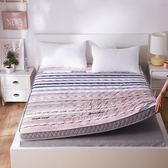 加厚保暖10cm海綿床墊1.5\1.8m雙人可折疊榻榻米學生宿舍床褥地鋪
