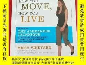 二手書博民逛書店How罕見You Stand, How You Move, Ho