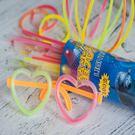 螢光棒 (200*5mm) 手環 發光棒 閃光棒 單色 混色 演唱會 露營 晚會 夜遊 排字【塔克】