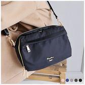 斜背包-skyblue自訂多用途防潑水斜背包-共4色-A17172090-天藍小舖