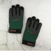 德國BOSCH電鑚防護工作手套 博世防滑汽修車木工電工工具手套 安妮塔小鋪