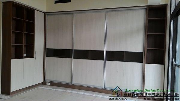 系統家具/系統櫃/木工裝潢/平釘天花板/造型天花板/工廠直營/系統家具價格/系統拉門衣櫃-sm0553