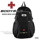 黑色機能性後背包 採用專業耐磨&YKK大拉頭  AMINAH~【BODYSAC B9882】