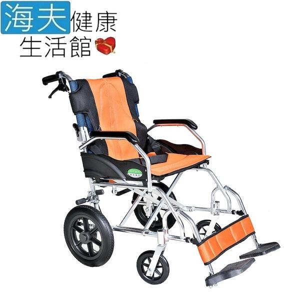 頤辰億 機械式輪椅(未滅菌)【海夫】頤辰12吋專利輪椅 3段調整/小輪/收納式/攜帶型/B款(YC-601/12)