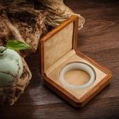 非洲花梨木紫檀純實木手鐲玉鐲盒翡翠玉器手串手鏈盒