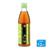 百家珍梅子醋600mlx12入/箱【愛買】