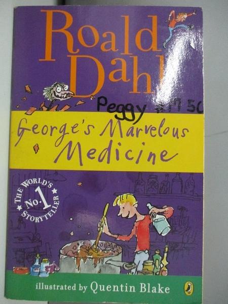【書寶二手書T1/原文小說_AOP】George's Marvelous Medicine_Dahl, Roald