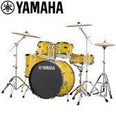 小叮噹的店-全新 YAMAHA RYDEEN 黃色爵士鼓(5件套組) RDP2F5