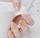 新娘日常美甲假指甲貼片成品手工仙氣裸海星穿戴圓頭短款光療 居享優品