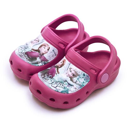 LIKA夢 Disney 迪士尼 15cm-20cm 冰雪奇緣 FROZEN 輕量兒童涼鞋 台灣製造 桃紅 84012 中童
