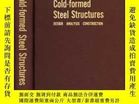 二手書博民逛書店Cold-formed罕見Steel Structures
