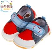 《布布童鞋》牛仔布帥氣紅寶寶嗶嗶學步鞋(12.5~14.5公分) [ R8S790A ]