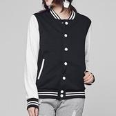 運動休閒棒球服女春秋薄版正韓學生寬鬆夾克嘻哈情侶外套 【降價兩天】
