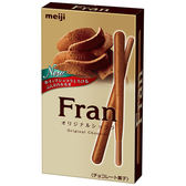 明治Fran棒狀餅乾-雙層巧克力口味45g【愛買】