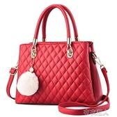 包包女包2021新款時尚潮新娘紅色伴娘中年媽媽包百搭斜挎 【快速出貨】
