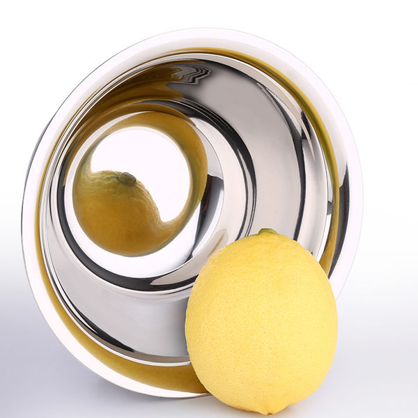PUSH! 餐具不銹鋼碗雙層加厚防燙防摔不鏽鋼碗飯碗加大款3pcs E69-2