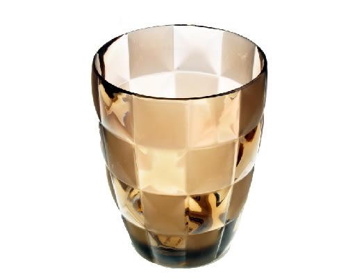 Grid 漱口杯 棕色|漱口杯 牙刷架 水杯【mocodo 魔法豆】