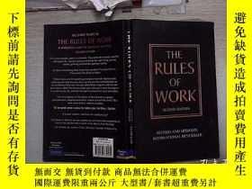 二手書博民逛書店THE罕見RULES OF WORK(SECOND EDITION)工作規則(第二版)(78)Y203004