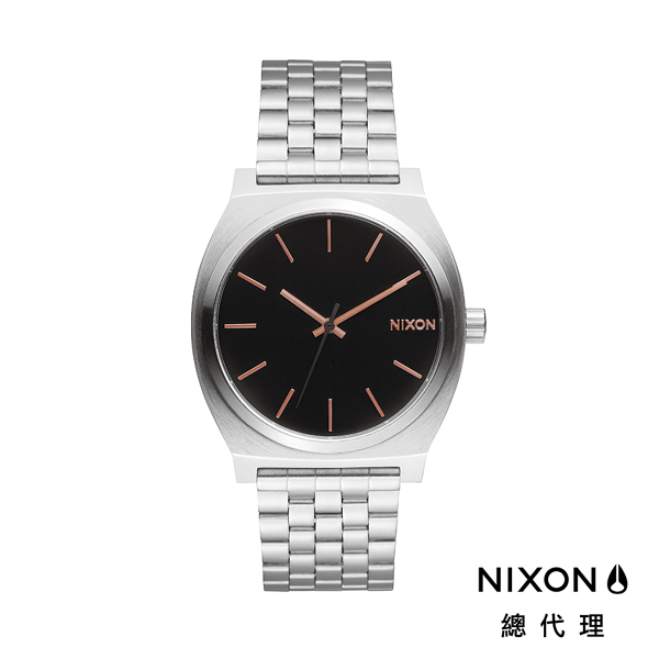 【官方旗艦店】NIXON TIME TELLER 極簡小錶款 銀 玫瑰金刻度 潮人裝備 潮人態度 禮物首選