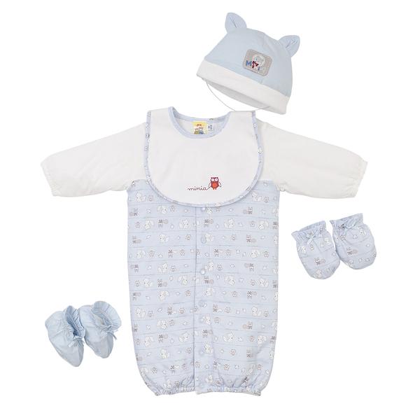 【愛的世界】鋪棉兩用嬰衣禮盒/3M~6個月-台灣製- ---禮盒推薦