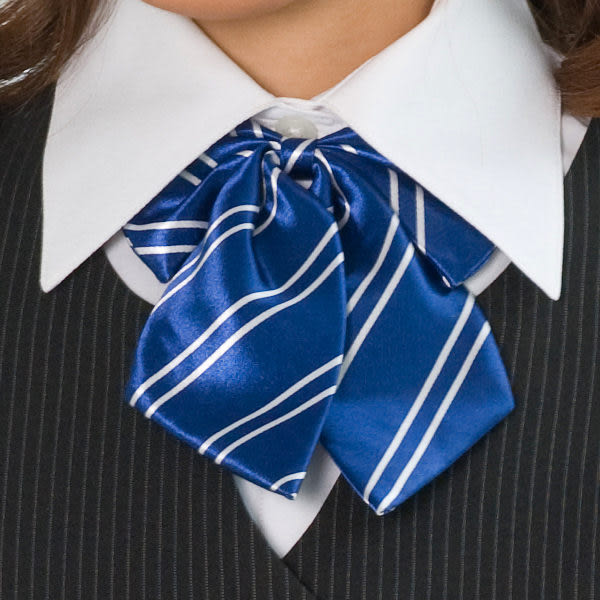 【LG-03】焦點魅力-甜美點綴OL時尚領結(藍底白條紋)