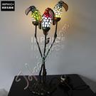 INPHIC-三隻鸚鵡彩色玻璃燈罩手工藝術品裝飾照明兒童可愛小夜燈造型燈造型夜燈_S2626C
