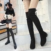 長靴 靴子女2020秋款冬季長靴加絨保暖過膝靴百搭顯瘦高筒靴女鞋ins潮 風馳