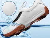 專業高爾夫球鞋 防水運動鞋 golf透氣真皮男款  預購7天+現貨