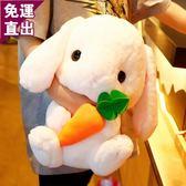 玩偶 小兔子毛絨玩具 可愛垂耳兔玩偶兒童節公仔床上抱枕少女禮物娃娃