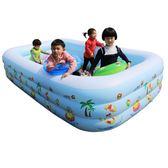 充氣泳池 充氣游泳池超大號兒童寶寶嬰兒幼兒家庭家用小孩成人大型加厚泳池 jyjy【限時免運】