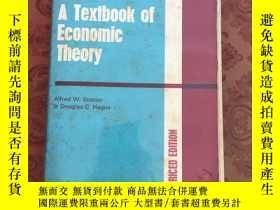 二手書博民逛書店A罕見Textbook of Economic Theory【館