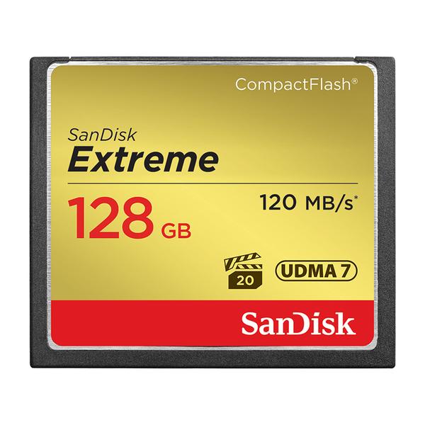 黑熊館 SanDisk Extreme CF 128GB 記憶卡 120MB 公司貨