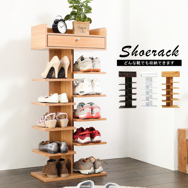 【免運】花台式單抽六層鞋架 鞋櫃 收納架 置物架 展示架 收納櫃 邊櫃 可收納10雙鞋 SC022 澄境