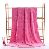 【DG396 】兔子浴巾超細纖維加厚浴巾吸水浴巾擦拭巾吸水巾方巾浴巾毛巾★EZGO 商城★