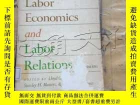 二手書博民逛書店Readings罕見in labor economics and
