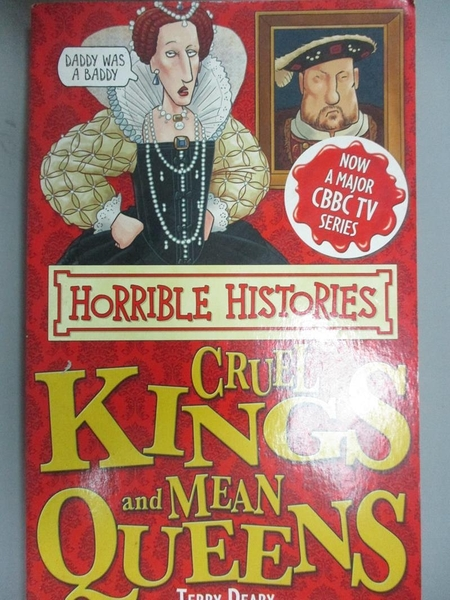 【書寶二手書T6/原文小說_JML】Cruel Kings and Mean Queens_Terry Deary