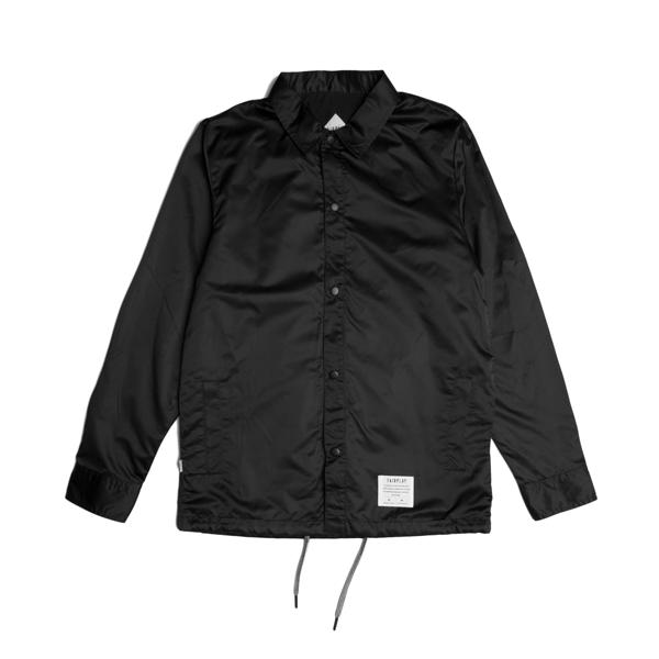 FAIRPLAY FITZROY - BLACK 黑色 教練外套防水防風 【GT Company】