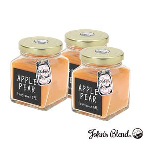 日本John s Blend 擴香膏(135g/瓶)(蘋果甜梨)3入