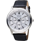CITIZEN星辰GENT'S引領時刻光動能腕錶   BU2071-01A