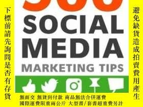 二手書博民逛書店500罕見Social Media Marketing TipsY256260 Andrew Macarthy