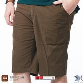 【NST Jeans】日式咖啡色 磨毛手感斜口袋 微彈 男鬆緊帶五分短褲(中腰) 395(25908) 早春商品 55折起