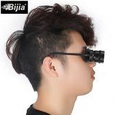 釣魚望遠鏡10倍看漂拉近高清專用垂釣鏡輕便眼鏡式頭戴眼鏡   小時光生活館