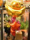 (YB-68)情意花坊超級商城氣球快樂送-財圓滾滾大元寶祝賀開幕氣球串-大台北縣市專人外送