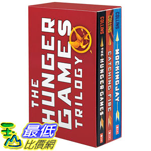 [104美國直購] 美國暢銷書排行榜 The Hunger Games Trilogy Box Set: Paperback Classic Collection Paperback