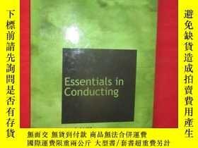 二手書博民逛書店Essentials罕見in Conducting ( 16開,