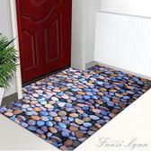 3d腳墊門墊進門客廳入戶門口腳踏墊子地墊 門廳廚房衛浴室薄地毯 HM 范思蓮恩