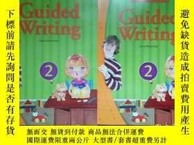 二手書博民逛書店Guided罕見Writing 2本合售 16開Y233841