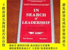 二手書博民逛書店In罕見Search of LeadershipY14635 外文原版書 ISBN:978007160295