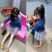 中小女童韓版牛仔裙春秋新品童裝洋裝 預購商品