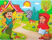 木質80片兒童拼圖板 木製早教益智幼兒拼圖寶寶智力玩具3-5-6-7歲